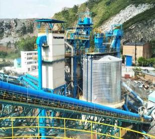 S3 Series Dry-type Shaping and Sand Making equipment from NFLG applied in Guangxi China Resources Group