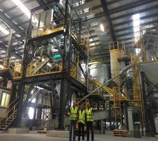 NFLG FBC2000 Dry Mortar Mixing Equipment is Used in Australia