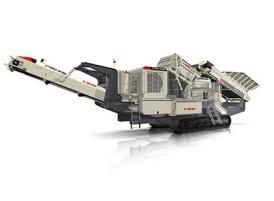 NFC1000 Tracked Mobile Cone Crushing Station