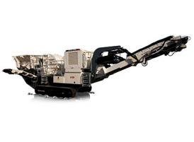NFI1111RS Tracked Mobile Impact Crushing Station