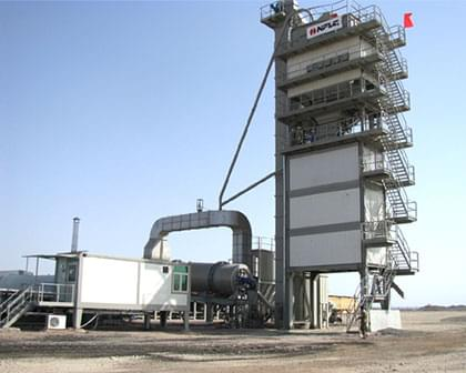 Asphalt mixture mixing equipment