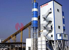 Common Engineering Concrete Mixing Plant